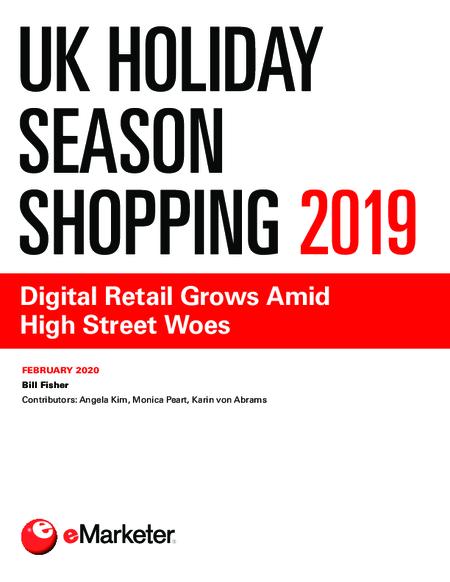 UK Holiday Season Shopping 2019