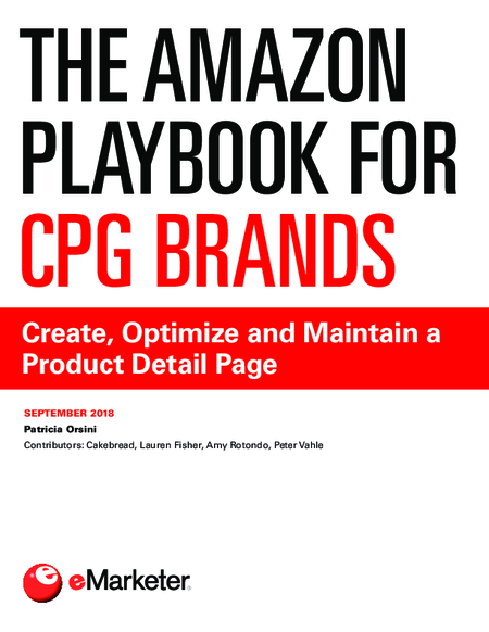 The Amazon Playbook for CPG Brands