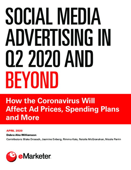 Social Media Advertising in Q2 2020 and Beyond
