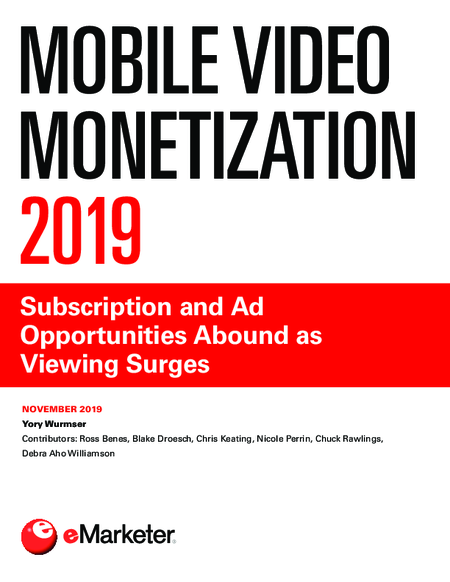 Mobile Video Monetization 2019