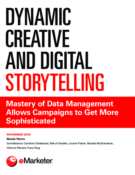 Dynamic Creative and Digital Storytelling