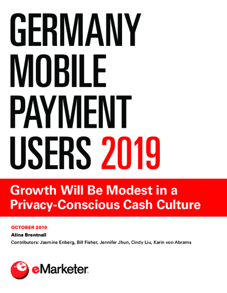 Germany Mobile Payment Users 2019