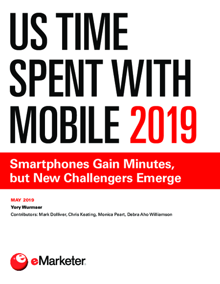 US Time Spent with Mobile 2019