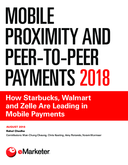 Mobile Proximity and Peer-to-Peer Payments 2018