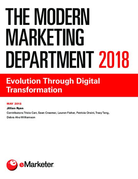 The Modern Marketing Department 2018