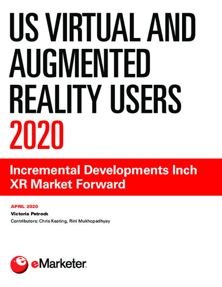US Virtual and Augmented Reality Users 2020