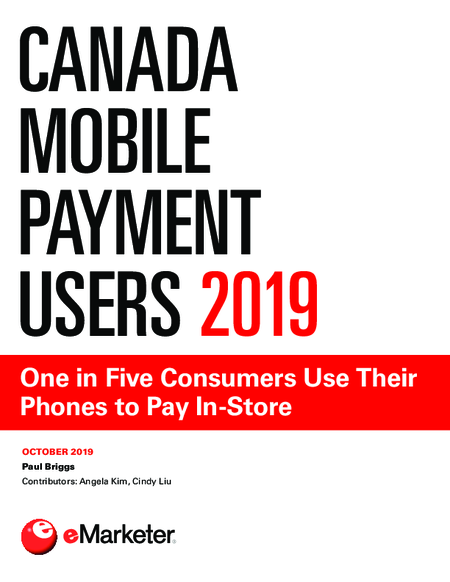 Canada Mobile Payment Users 2019