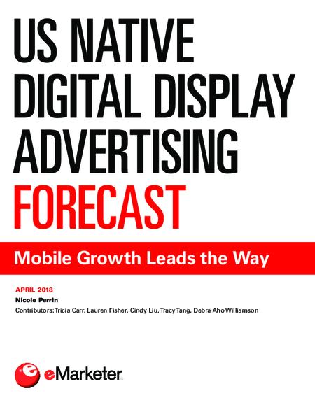 US Native Digital Display Advertising Forecast