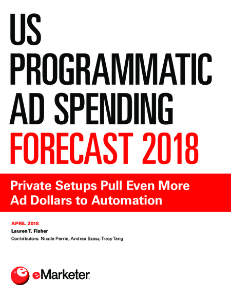 US Programmatic Ad Spending Forecast 2018
