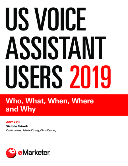 US Voice Assistant Users 2019