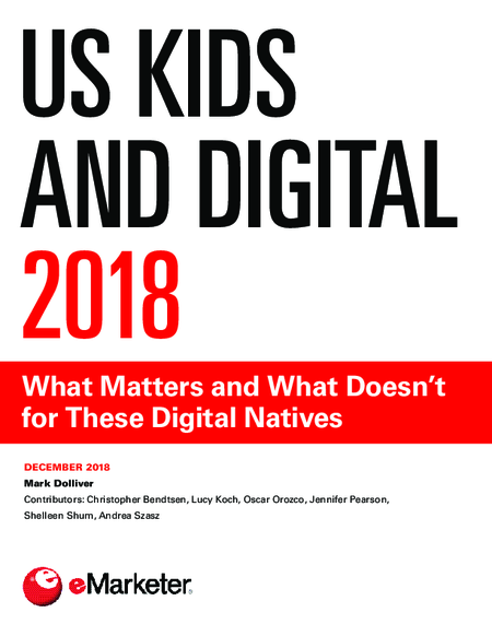 US Kids and Digital 2018
