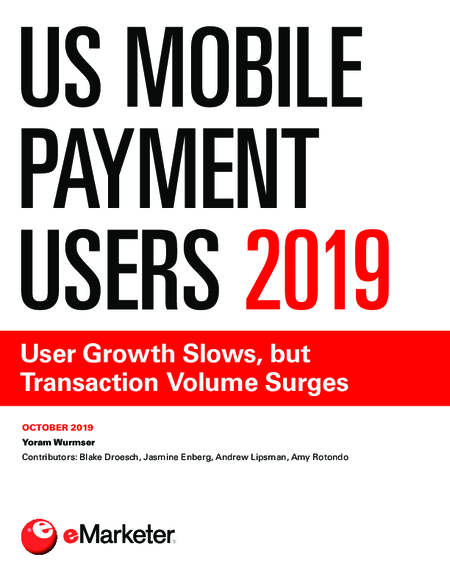 US Mobile Payment Users 2019