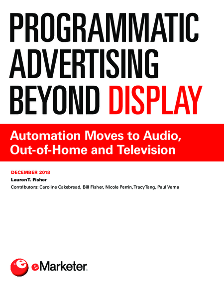 Programmatic Advertising Beyond Display