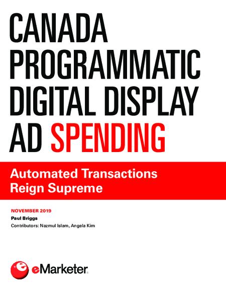 Canada Programmatic Digital Display Ad Spending