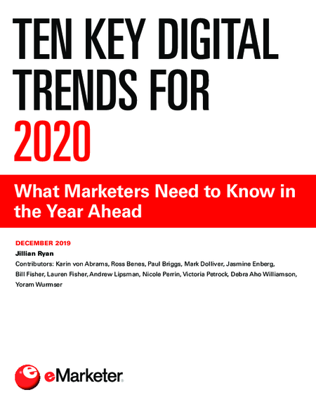 Ten Key Digital Trends for 2020