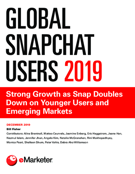 Global Snapchat Users 2019