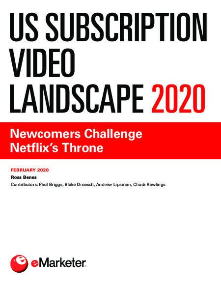US Subscription Video Landscape 2020