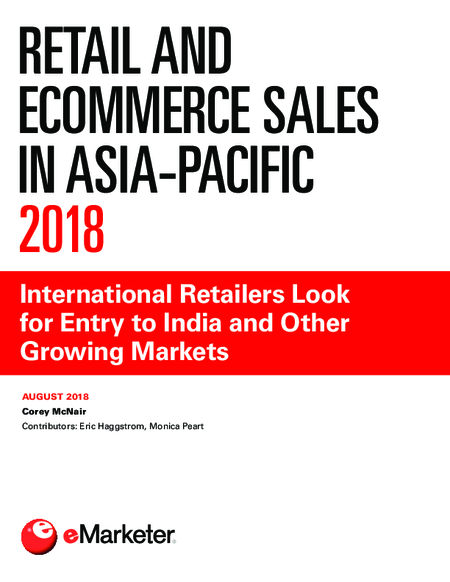 Retail and Ecommerce Sales in Asia-Pacific 2018