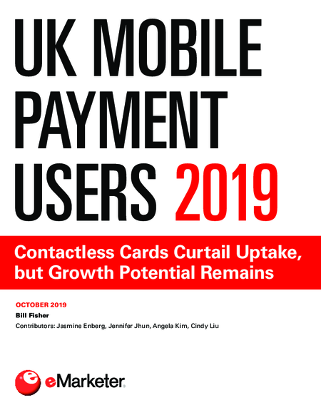 UK Mobile Payment Users 2019