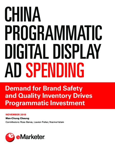 China Programmatic Digital Display Ad Spending