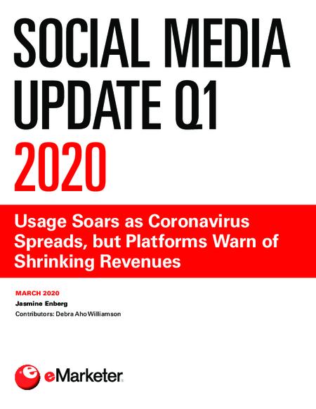 Social Media Update Q1 2020