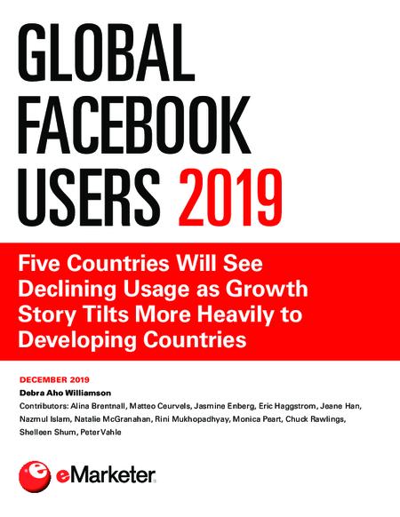 Global Facebook Users 2019