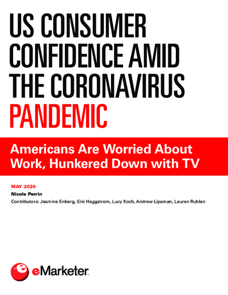 US Consumer Confidence amid the Coronavirus Pandemic