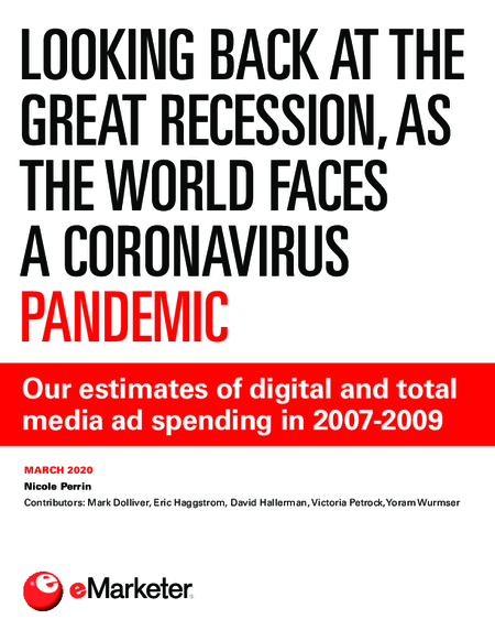Looking Back at the Great Recession, as the World Faces a Coronavirus Pandemic