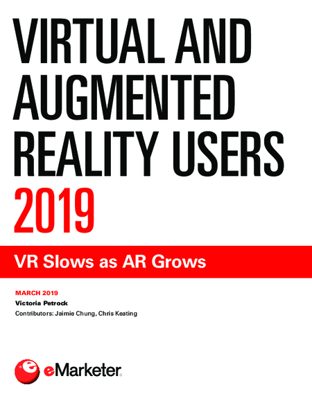 Virtual and Augmented Reality Users 2019